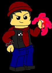 LEGO Evil Delsin Rowe, Neon Power
