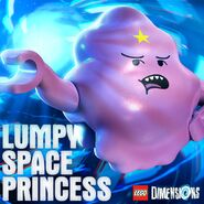 Lumpy Space Princess promotional image