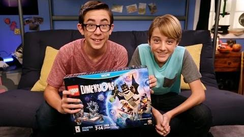 Dylan and Augie Unbox the Starter Pack! - LEGO Dimensions