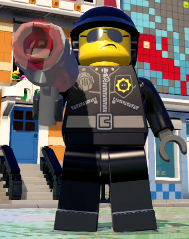 How To Start A Car With A Bad Starter >> Bad Cop | LEGO Dimensions Wikia | FANDOM powered by Wikia