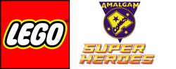 Amalgam Superheroes logo