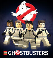 Lego ghostbusters poster