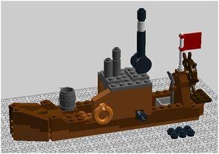 Captain Tanner's Ship