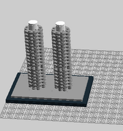The Marine Towers (2 models)