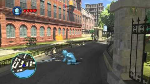 LEGO Marvel Super Heroes The Video Game - Iceman free roam