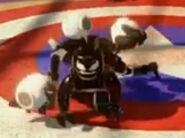 Venom juggling skulls