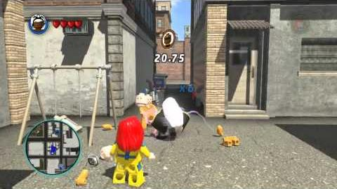 LEGO Marvel Super Heroes The Video Game - Storm free roam