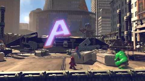 Lego Marvel Super Heroes Gameplay Trailer 720p
