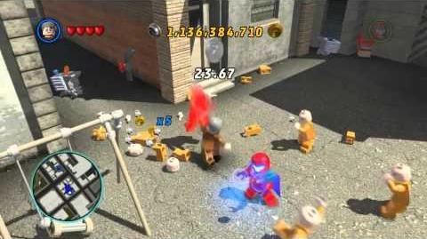 LEGO Marvel Super Heroes The Video Game - Mastermind free roam