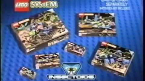 1998 LEGO Insectoids Commercial 2