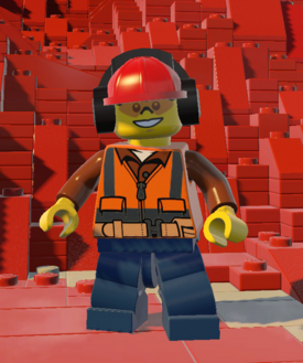 Construction Worker (Safety Goggles)