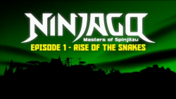 Rise of the Snakes Title Screen