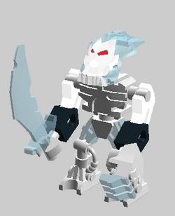 Frost beast mini-fig
