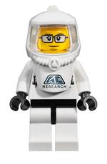 Astor City Scientist character full body