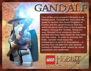 LEGO Gandalf Description