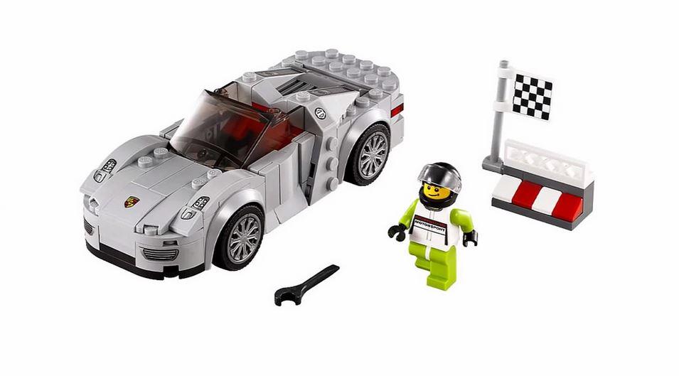 image lego speed champions porsche 918. Black Bedroom Furniture Sets. Home Design Ideas