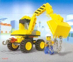 6474 4-Wheeled Front Shovel