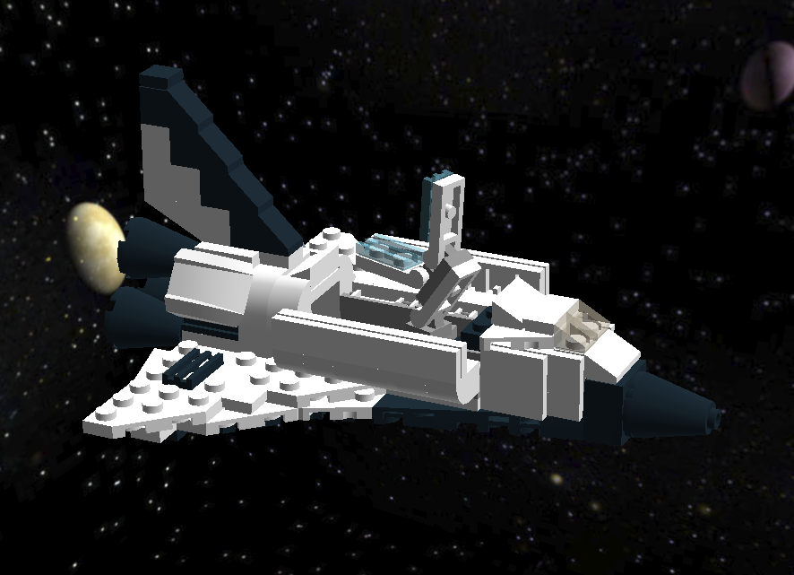 lego space shuttle custom - photo #13