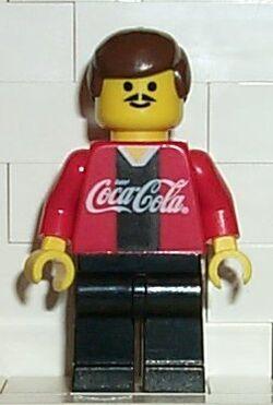 Coca Cola Soccer Player