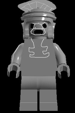 Aztec Statue Monster