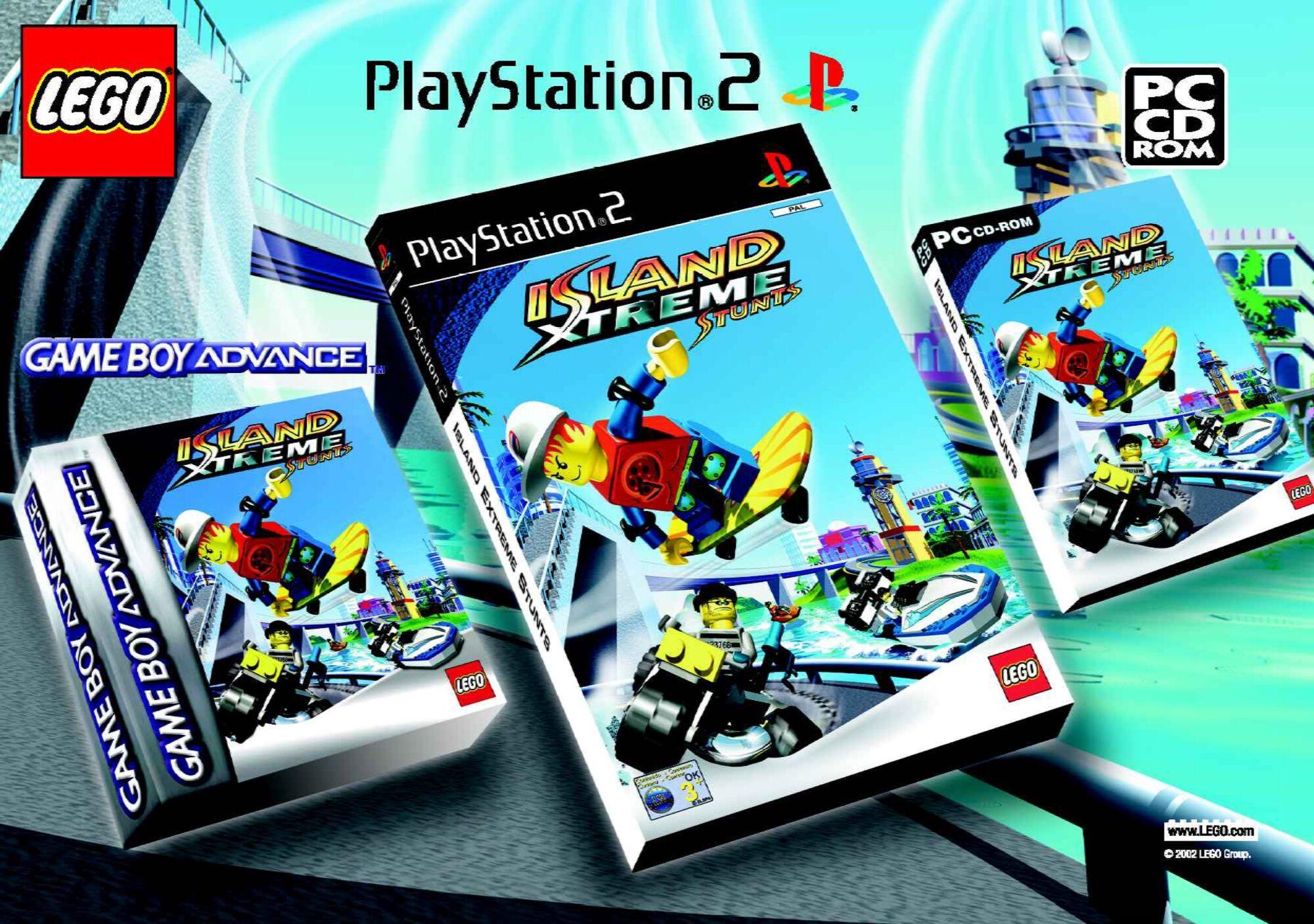 Island Xtreme Stunts (Game) | Brickipedia | FANDOM powered ...