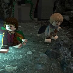 Frodo and Samwise in <a href=
