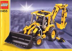 8455 Backhoe Loader