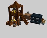 LEGO Poacher Camp