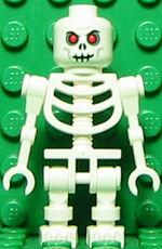 Skeleton Warrior White