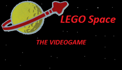 LEGO Space The Videogame Logo