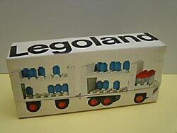 645-Milk Float & Trailer box