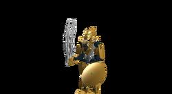 The Golden Toa (Toa Inika Fury)