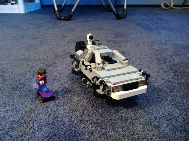 File:DeLorean Built.jpg