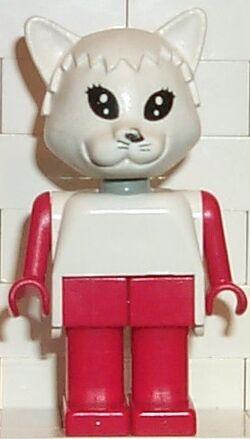 Fabuland Figure Cat 3
