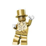 Mr. Gold waving