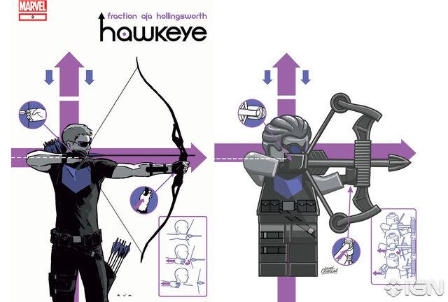 File:Hawkeye Issue 2 in Lego.jpg