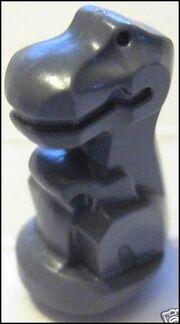 Dark Grey Baby T-Rex