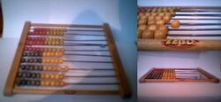 Wood- Wooden Abacus