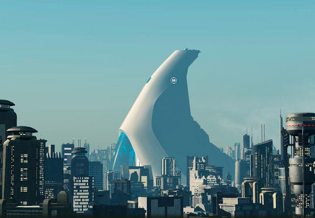 ファイル:Makuhero City with Assembly Tower.png