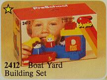 2412 Boat Yard Building Set