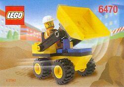 6470 Mini-Dump Truck