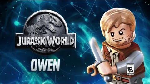 Character Spotlight Owen LEGO Dimensions