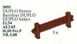 5095 DUPLO Fences