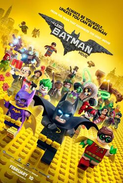 Lego Batman Movie Final Poster