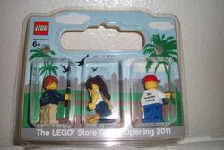Lego store opening set