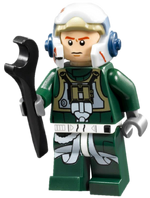Lego A-wing Pilot