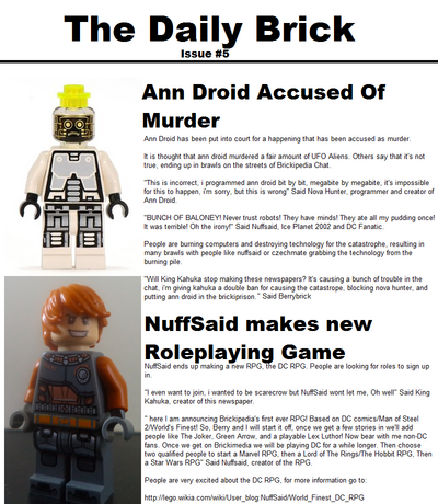 TheDailyBrickIssue5