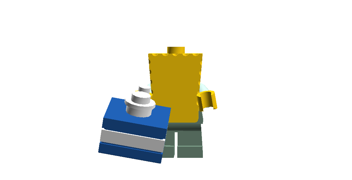 SpongeBob With Present