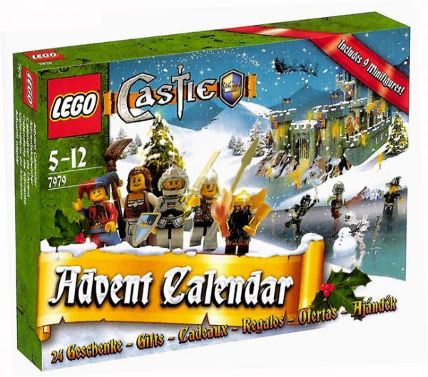 7979 castle advent calendar brickipedia fandom powered. Black Bedroom Furniture Sets. Home Design Ideas