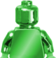 Green-minifigure